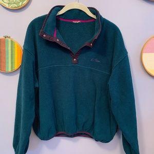 Vintage L.L. Bean Fleece Pullover